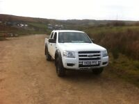 Ford ranger 2.5tdci 2008 double cab