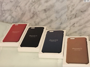 Iphone 6S & Iphone 7 Leather cases for sale $10 each
