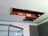 Saskatoon drywall and ceiling repair