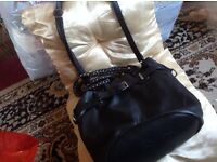 Shoulder Ladies handbag baggy black colour £4