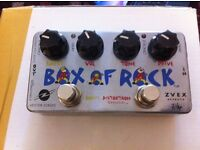 Distortion and boost pedal ZVEX Box of Rock