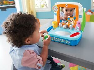NEW: Fisher-Price Laugh & Learn Let's Get Ready Sink (English)