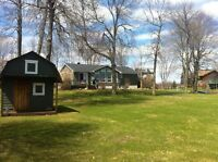 Big Waterfront At Your Backdoor!! 40 min from the west island