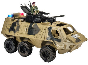 Memtes Military Fighter Army Truck Tank Toy With Mini Army S