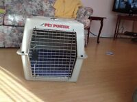 Medium to Large Pet Porter dog crate