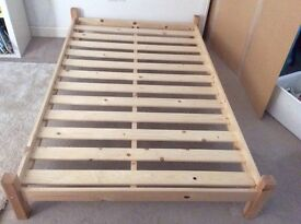 4ft Wooden Bed
