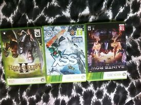 3 Xbox 360 games very good condition