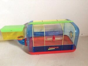 Hamster cage and toys for sale