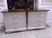 Large Pine End Tables $95 for Pair