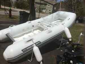 WALKER BAY GENESIS 310 RIGID HULL 9.9 HP MERCURY 4 Stroke