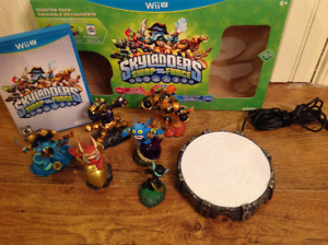 SKYLANDERS swap force WiiU