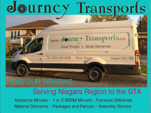 Mattress, Beds, Futons moved and delivered, Niagara Region