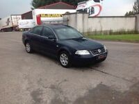 24/7 Trade sales NI Trade Prices for the public 2003 Volkswagen Passat 1.9 TDI S Blue