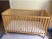 Cot bed £60
