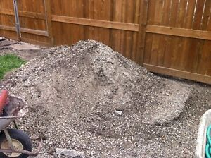 Free rocks and dirt (gravel) -pick up in Cedabrae (sw)