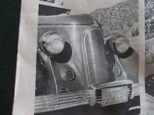 """1936 Ford kustom New Old Stock grille shell  """"Pines Winterfront"""" London Ontario image 5"""