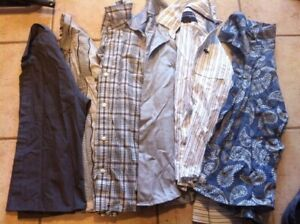 Boys dress and casual shirts - size 8 and 10