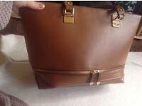 New look ladies shoulder bag brown used £4