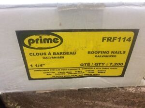 Roofing nails galvanized 1 1/4 inch