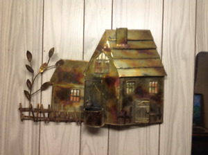 Metal art piece (one of  a kind)