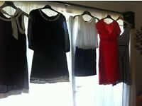 5 ladies dresses for sale (all to fit size 14) please read ad