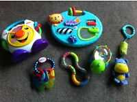 Fisher Price Nuby Baby Toys Teethers