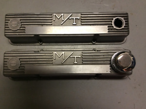 Vintage Mickey Thompson Valve Covers SBC 350 327 283