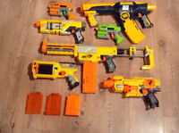 Nerf Guns +  Magasin