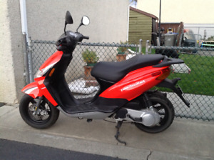 Scooter to work & save money!