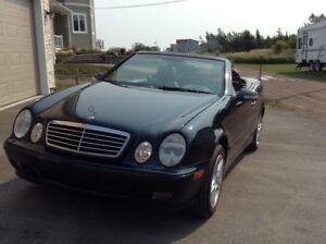 2000 Mercedes clk 320