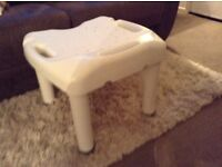 Disabled shower stool
