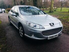 2008 PEUGEOT 407 1.6 HDI SE CHEAP 4 DOOR SALOON MANUAL