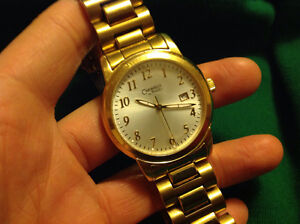 Caravelle Gold Plated Watch and Giovine watch for sale