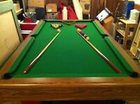 Pool table 1000.00 or best offer!