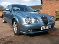Jaguar S-TYPE 2.5 V6 Sport Only 39,000 Miles From New By One Owner + Demo.