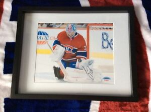 Carey Price Montreal Canadiens signed and framed photo