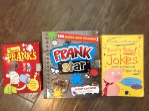 Prank and joke kids books