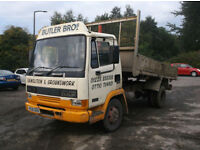 LEYLAND DAF 45.150 4X2 TIPPER, MANUAL GEARBOX AND PUMP