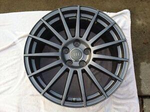 Audi titanium mags