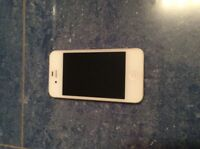 White iPhone 4s 16gb / IPhone Blanc!