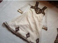 Indian dress size: 36 new £2