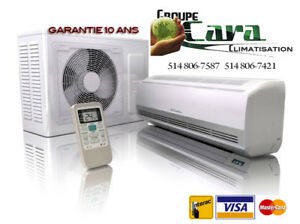 CLIMATISEUR MURAL // THERMOPOMPE MURALE 1495.00 TX