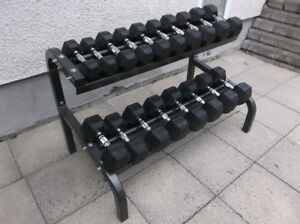 DUMBELL \ BENCH PRESS \ HALTERE \ D'EXERCICE \ DUMBBELL \ POIDS