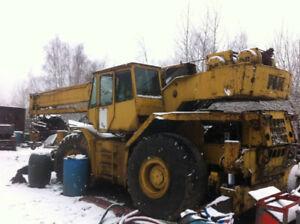 35 Ton P&H RT hydraulic crane 80 feet of live boom, 32 foot jib,