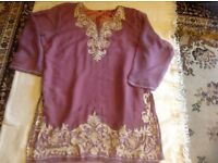 "Ladies Long blouse size 50""chest used £1"