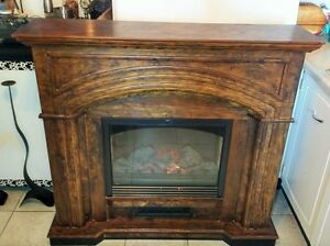 DecorFlame ELECTRIC FIREPLACE WITH REMOTE CONTROL