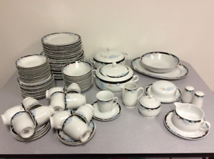 Dishes set for 12