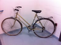 "Mercier Vintage bike and 27"" wheels ....Great Condition!"