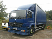Mercedes-Benz Atego 1823 18T curtainsider 24 Foot Body underslung tail lift