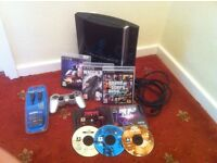 ps3 console with ps3 and ps1 games TAKE AL@@K